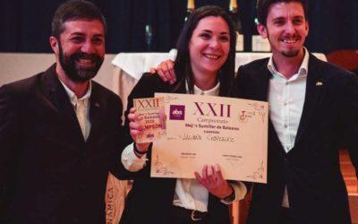 Enhorabuena buena a Juliana González, es la mejor sumiller de Baleares