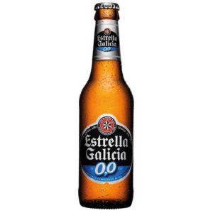 ESTRELLA GALICIA 0,0 DE 0,25 CL.